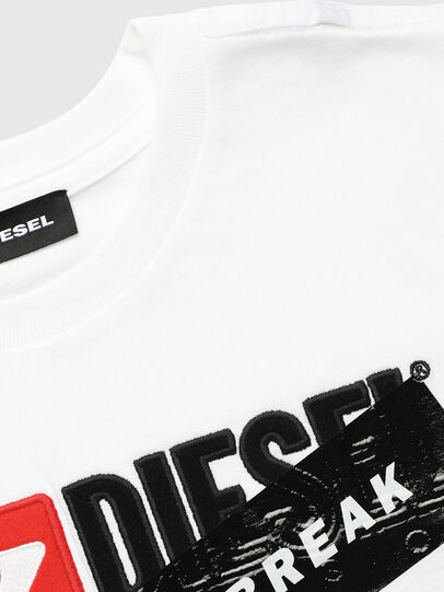 Diesel - UN-K-TJUSTDIVISION-A,  - T-shirts and Tops - Image 3