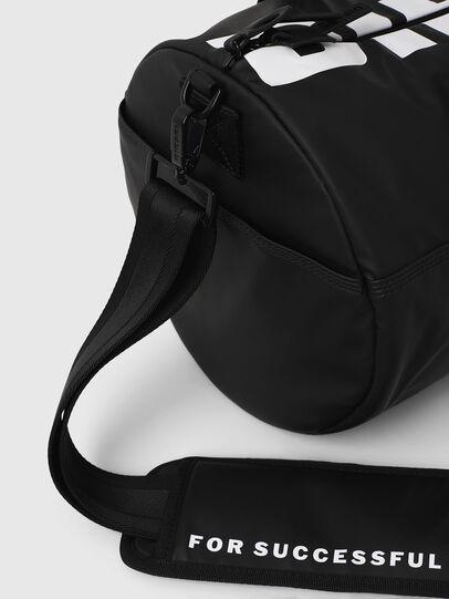 Diesel - F-BOLD DUFFLE, Black/White - Travel Bags - Image 4