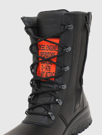 Diesel - H-WOODKUT BT, Black - Boots - Image 4