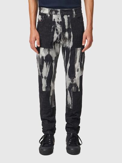 Diesel - D-Kras 09B35, Black/Dark grey - Jeans - Image 1