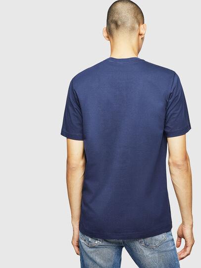 Diesel - T-JUST-B1, Blue - T-Shirts - Image 2