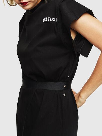 Diesel - D-FLIX-B, Black - Dresses - Image 5