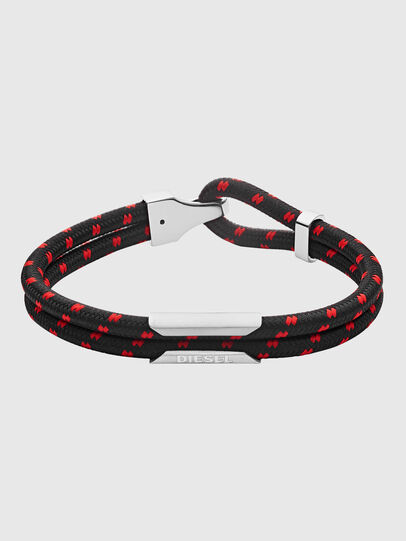 Diesel - DX1235, Black/Red - Bracelets - Image 1