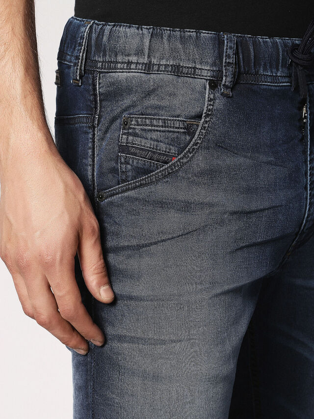 Diesel - Krooley JoggJeans 0683Y, Dark Blue - Jeans - Image 4