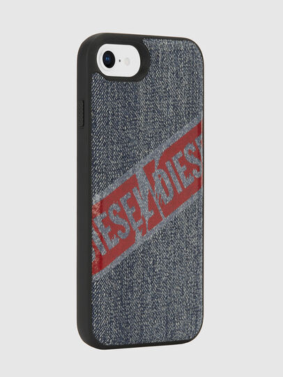 Diesel - VINTAGE DENIM IPHONE 8/7/6S/6 CASE, Blue Jeans - Cases - Image 6