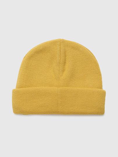 Diesel - K-XAU B, Yellow - Knit caps - Image 2