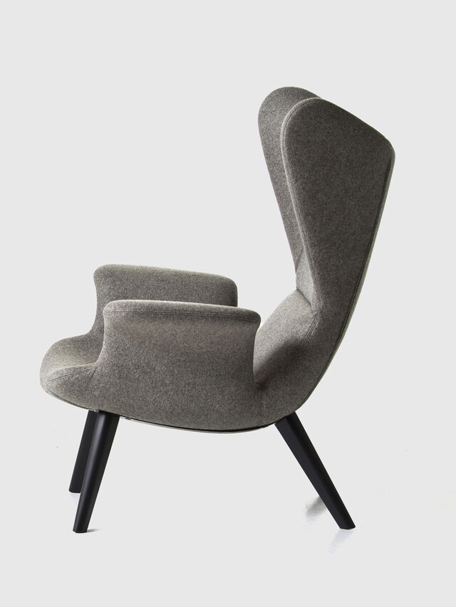 Living DL2H05 LONGWAVE, Grey - Armchairs - Image 2
