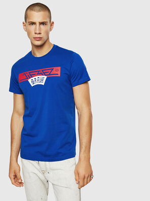 T-DIEGO-A1, Brilliant Blue - T-Shirts