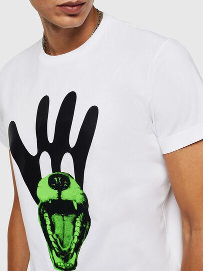 Diesel - T-DIEGO-B18, White - T-Shirts - Image 3