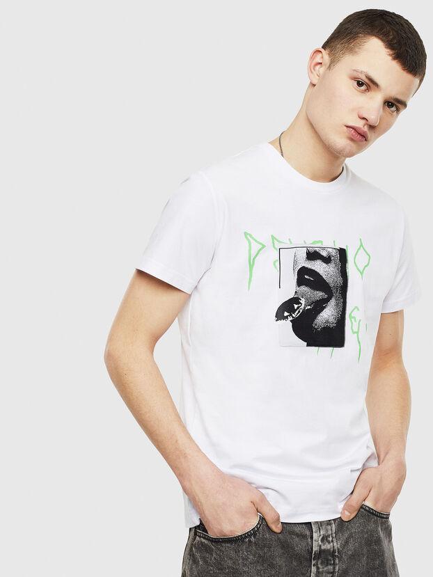 T-DIEGO-S12, White - T-Shirts