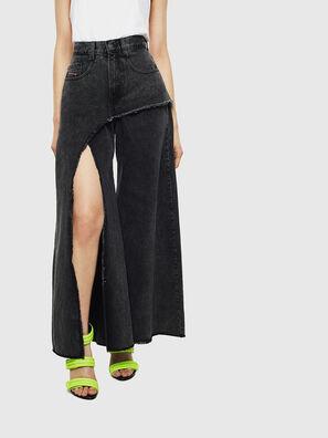 D-Izzier 0KAXA, Black/Dark grey - Jeans