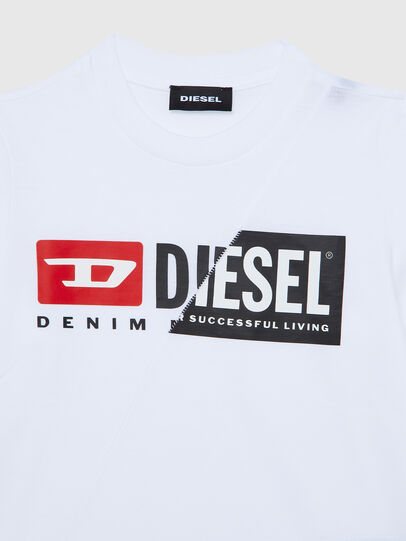 Diesel - TDIEGOCUTYB ML-R, White - T-shirts and Tops - Image 3