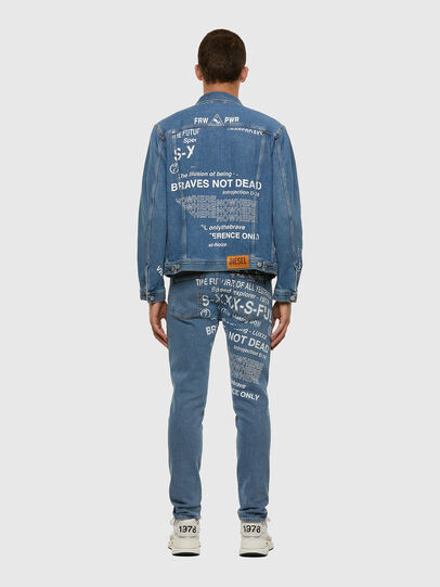 Diesel - NHILL-SP2, Light Blue - Denim Jackets - Image 7