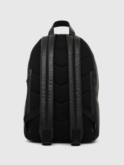 Diesel - ESTE, Black/White - Backpacks - Image 2