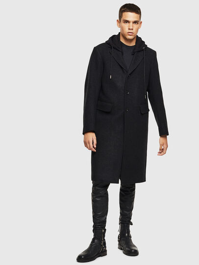 Diesel - W-DEXTY, Dark grey - Winter Jackets - Image 1