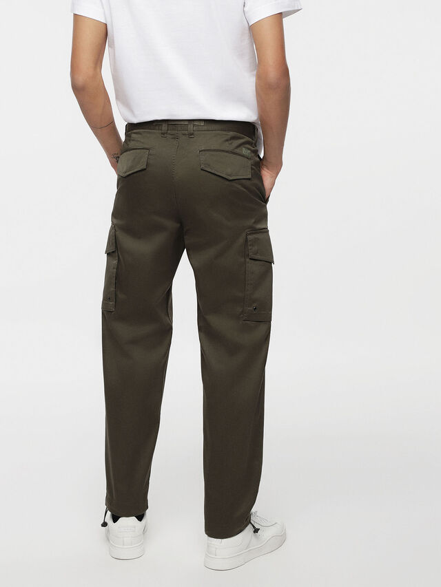 Diesel - P-MADOX-CARGO, Military Green - Pants - Image 2