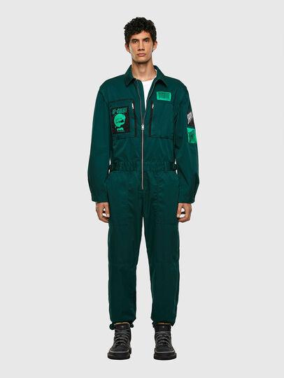 Diesel - P-LARRY, Dark Green - Pants - Image 7