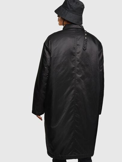 Diesel - W-ADAM, Black - Winter Jackets - Image 3