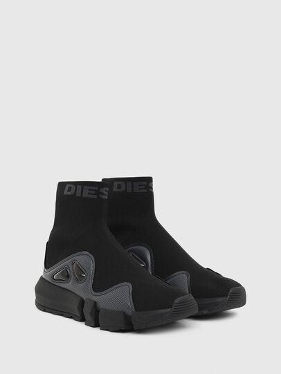 Diesel - H-PADOLA HSB W, Black - Sneakers - Image 2