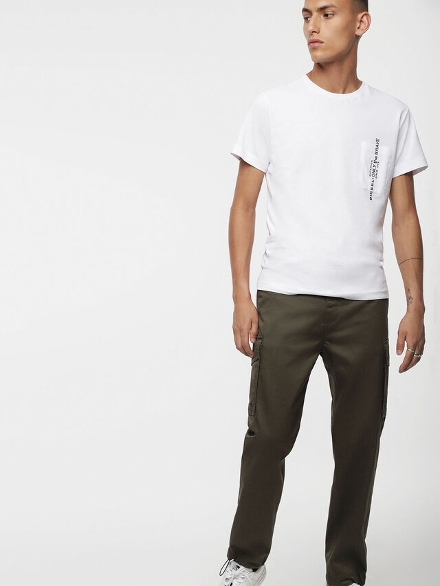 Diesel - P-MADOX-CARGO, Military Green - Pants - Image 3