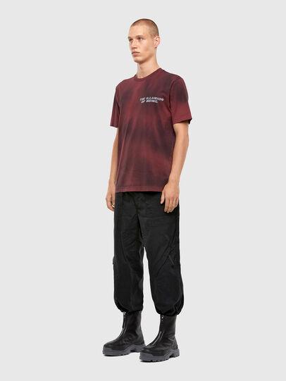Diesel - T-JUST-N47, Brown - T-Shirts - Image 5
