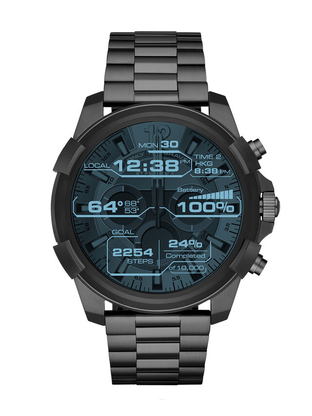 Diesel - DT2004, Metal Grey - Smartwatches - Image 2