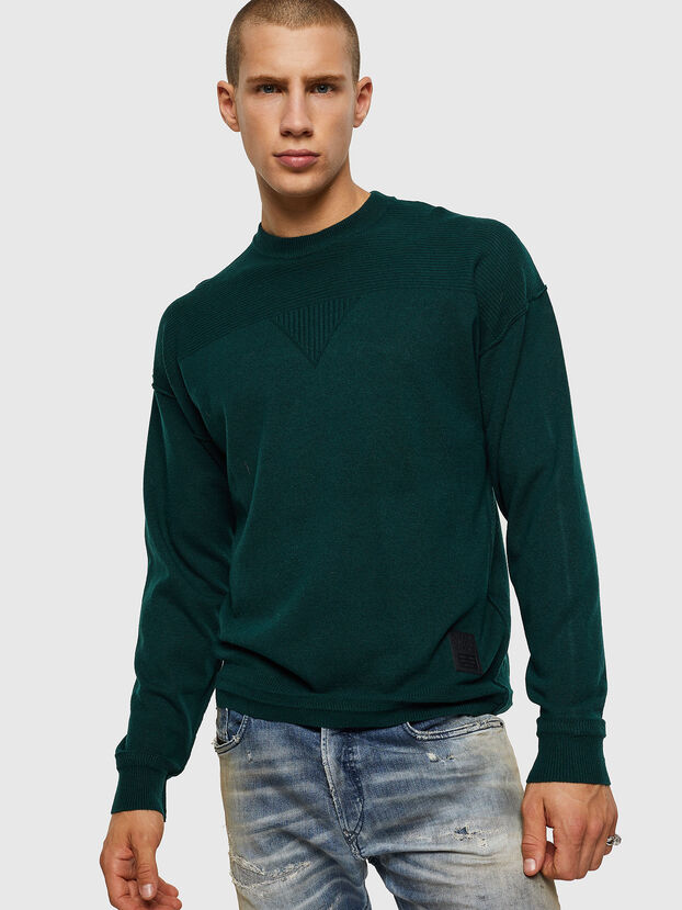 K-LETO, Dark Green - Knitwear