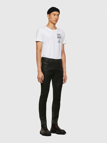 Diesel - D-Strukt JoggJeans 069QX, Black/Green - Jeans - Image 6