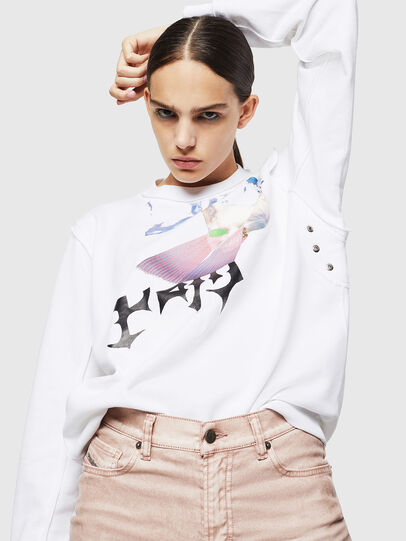 Diesel - F-LYANY-G, White - Sweaters - Image 4