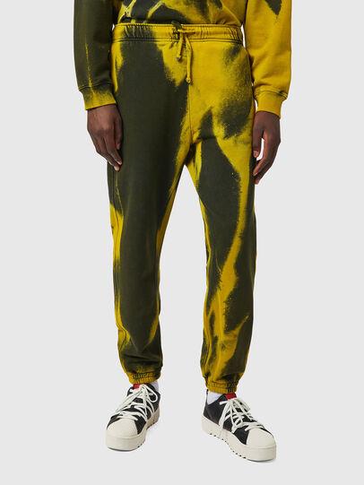 Diesel - P-CALTON-RIB-B1, Yellow/Green - Pants - Image 1