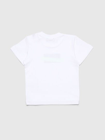 Diesel - TJUSTDIXB, White - T-shirts and Tops - Image 2