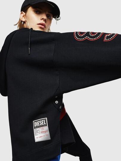 Diesel - F-AVAH-PR, Black - Sweaters - Image 5