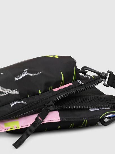 Diesel - WARMY, Black - Crossbody Bags - Image 5