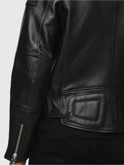 Diesel - L-RUSHIS,  - Leather jackets - Image 4