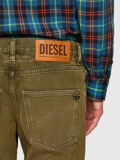 Diesel - D-Kras 09A35, Military Green - Jeans - Image 4