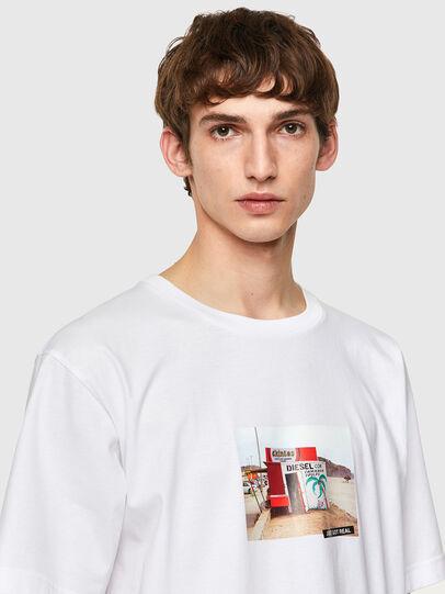 Diesel - T-TUBOLAR-B2, White - T-Shirts - Image 3