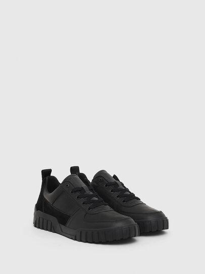 Diesel - S-RUA LOW, Black - Sneakers - Image 2