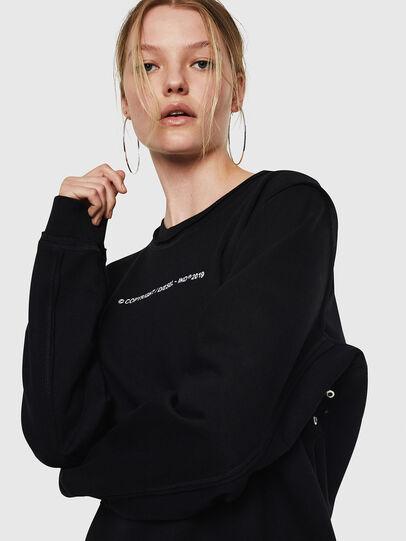 Diesel - F-LYANY-F, Black - Sweaters - Image 3