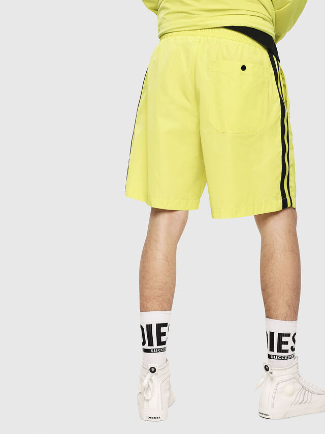 Diesel - P-BOXIE, Yellow Fluo - Shorts - Image 2