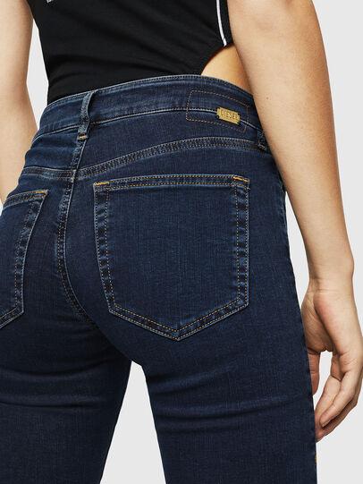 Diesel - Slandy Zip 083AM, Dark Blue - Jeans - Image 3