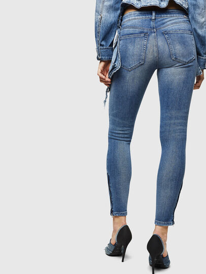 Diesel - Slandy Zip 083AP,  - Jeans - Image 2