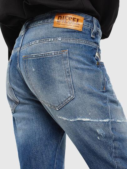 Diesel - Fayza 0097B, Medium blue - Jeans - Image 4