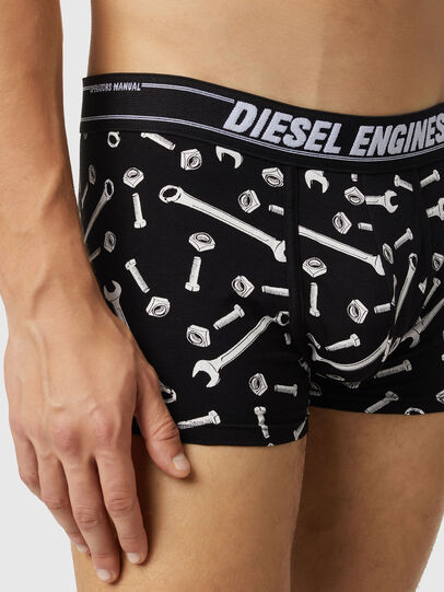 Diesel - UMBX-DAMIENTHREEPACK, Black/Grey - Trunks - Image 4