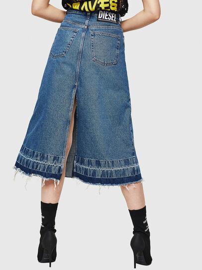 Diesel - DE-INGRID, Medium blue - Skirts - Image 2