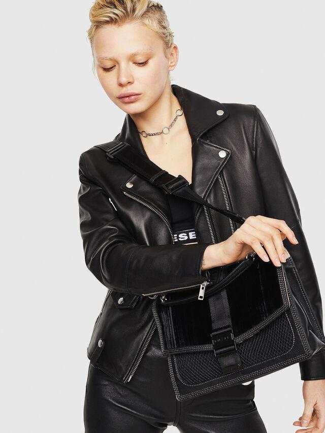 Diesel - MISS-MATCH CROSSBODY, Black/Pink - Crossbody Bags - Image 5