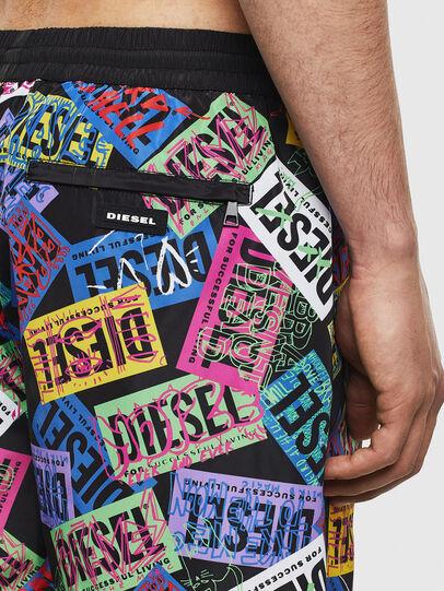 Diesel - BMBX-WAVE 2.017, Multicolor - Swim shorts - Image 4