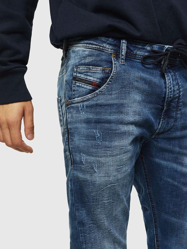 Diesel - Krooley JoggJeans 0685I, Medium blue - Jeans - Image 3