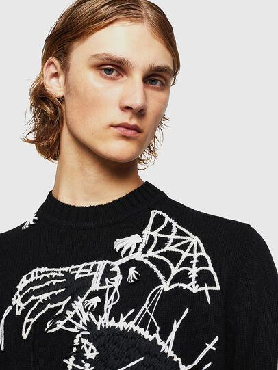 Diesel - KLATO, Black - Knitwear - Image 3