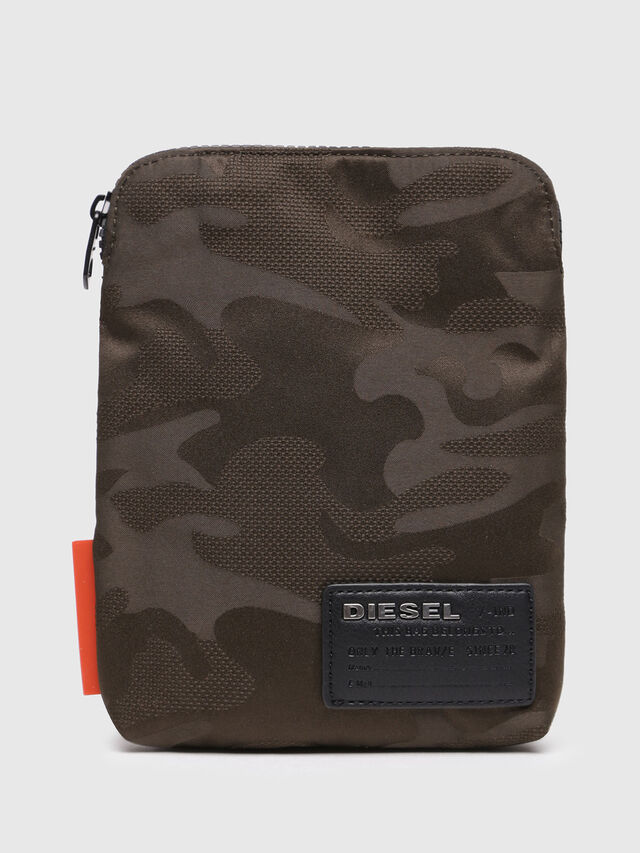 Diesel - F-DISCOVER SMALLCROS, Marron Military - Crossbody Bags - Image 1