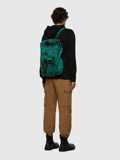Diesel - GRAFYTI BACK, Green - Backpacks - Image 6